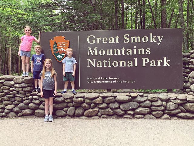 Went to the place and had to take the picture... . . #smokeymountains