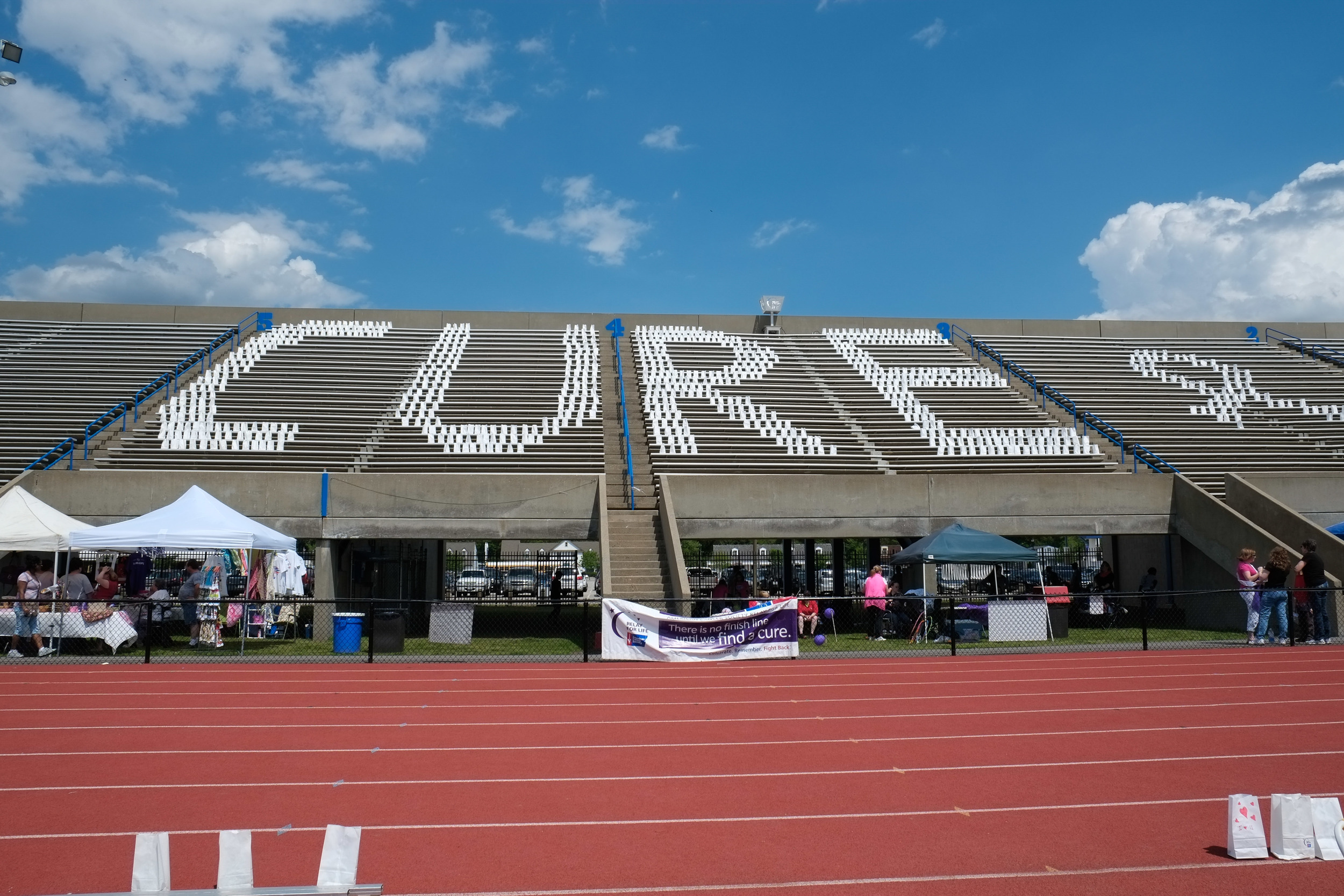 Relay for Life 2014- John B. Todd Stadium in Newport News, Virginia