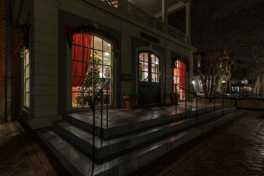 Colonial Williamsburg at Night