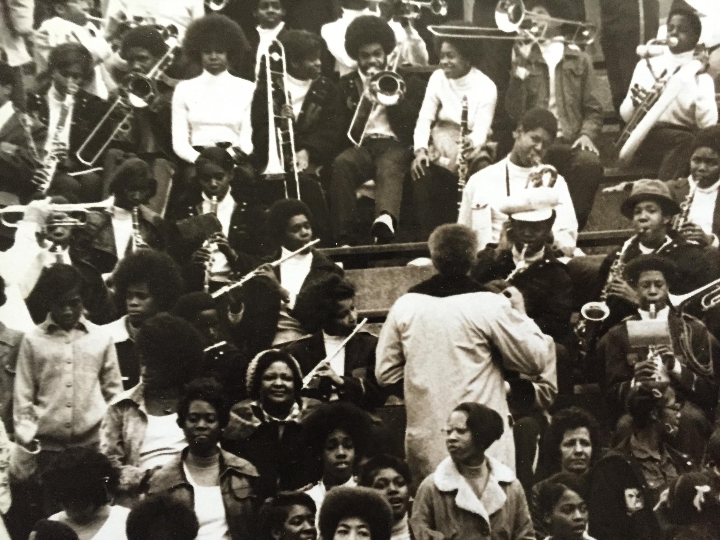 Weequahic High School Band - 1972