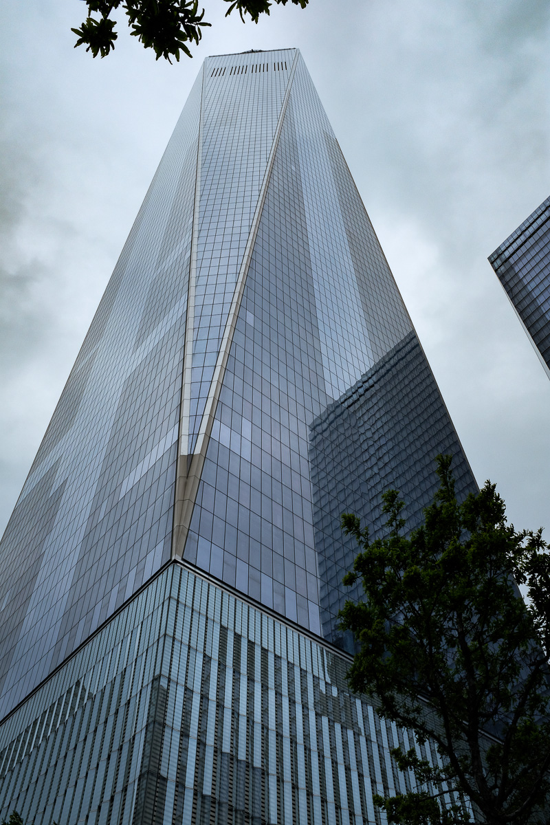 One World Trade Center, taken with Fujifilm X100F,
