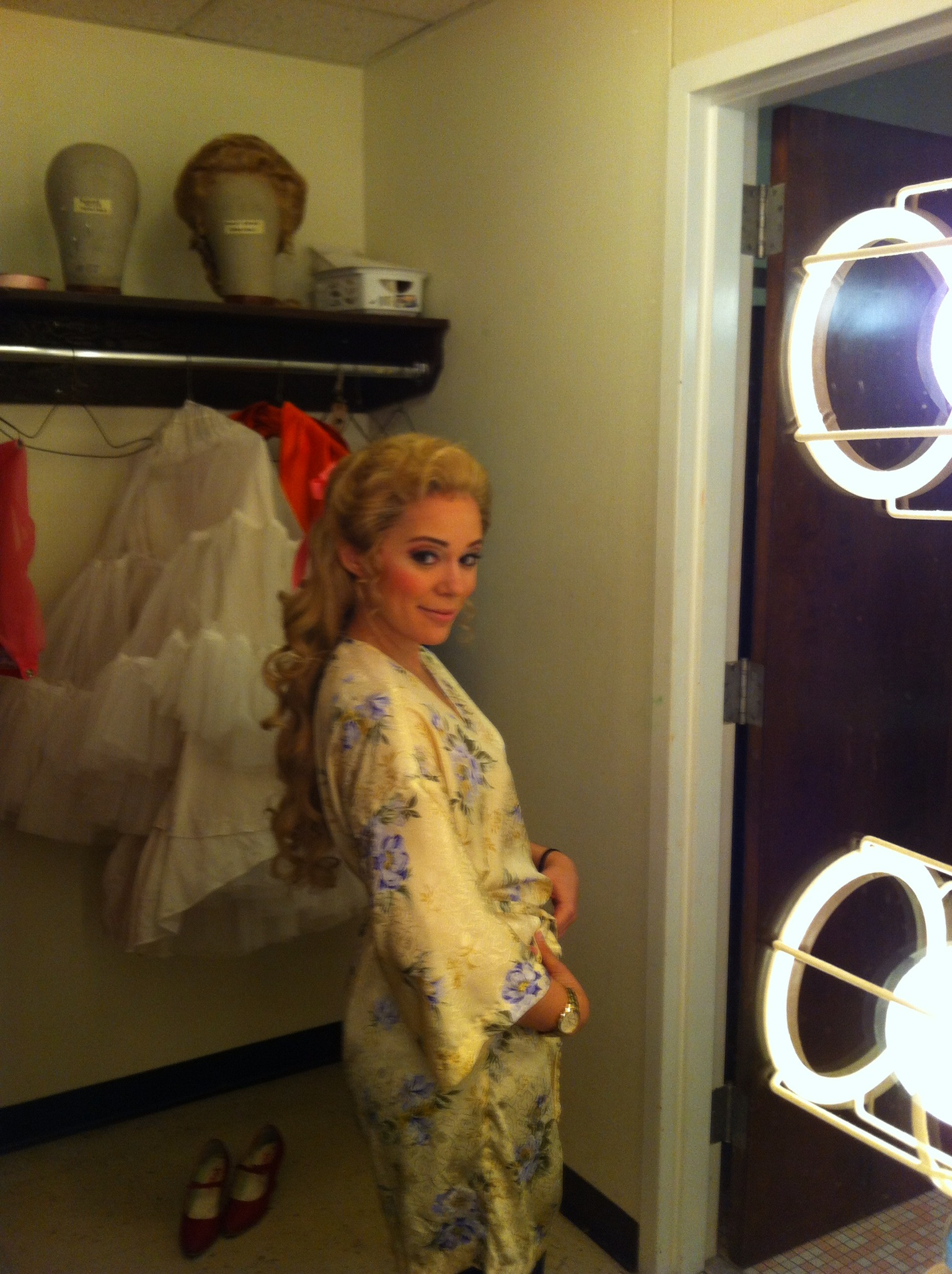 Backstage at Portland Opera
