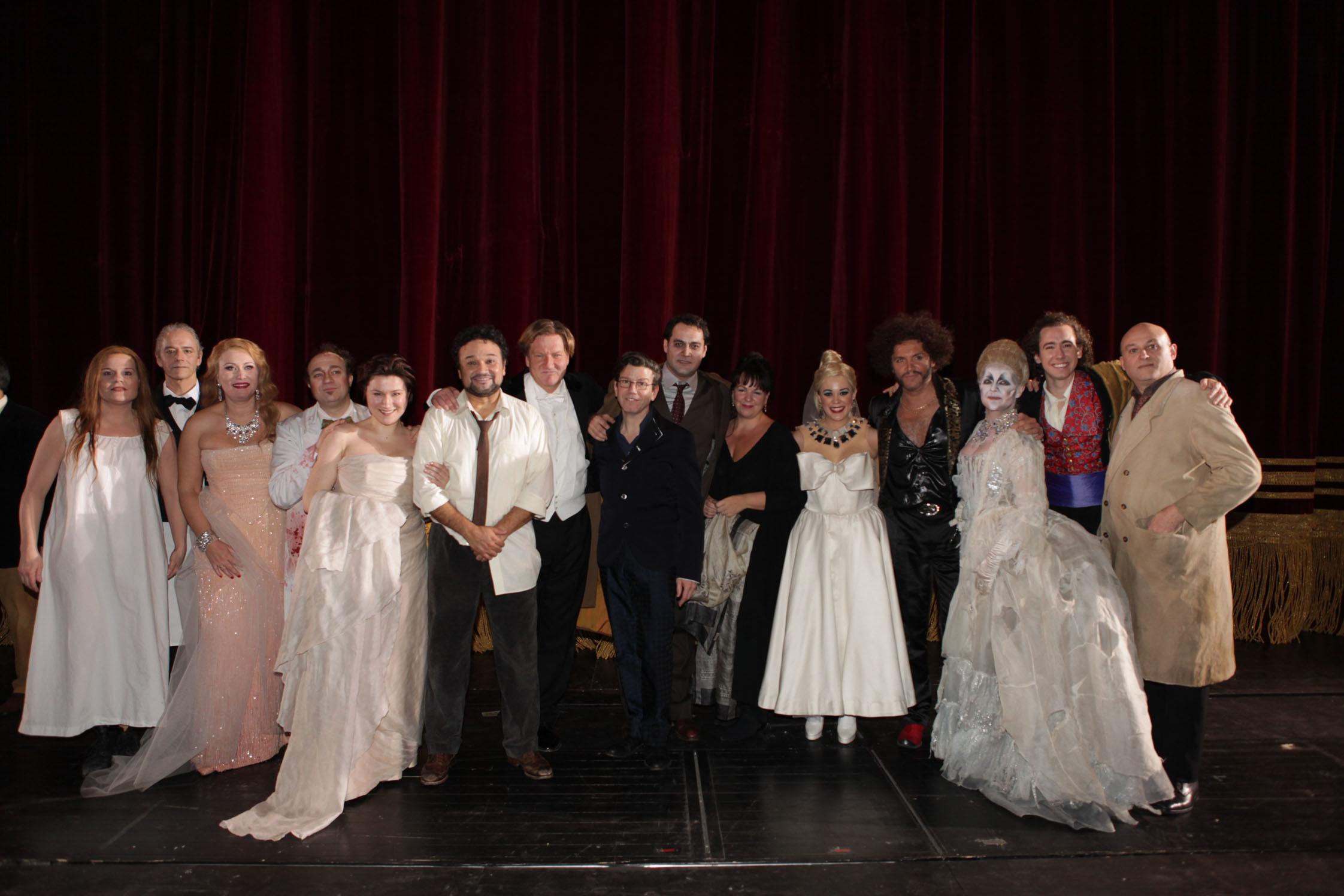 Opening Night of La Scala Hoffman