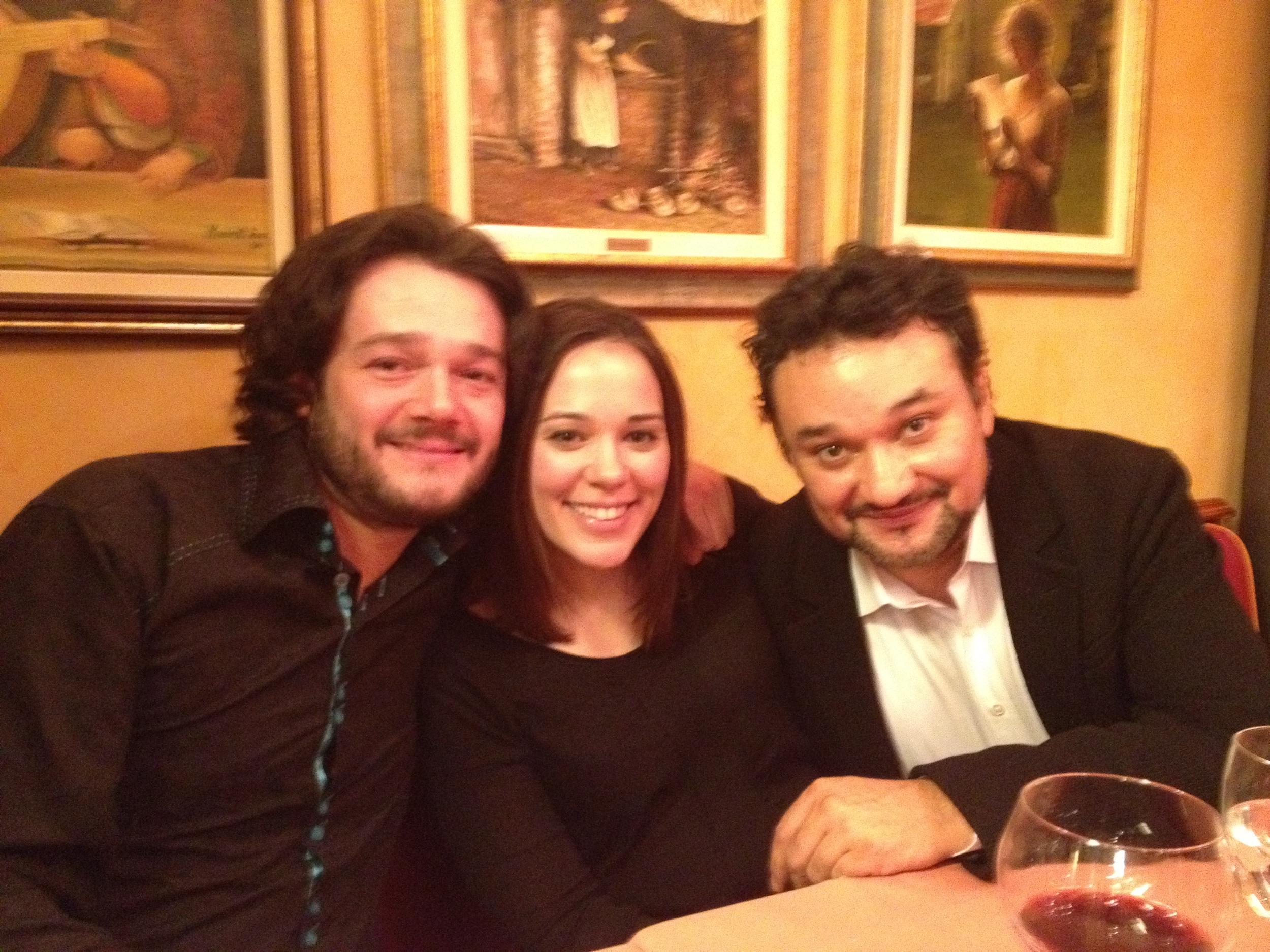 Two of my favorite tenors, Arturo Chacón-Cruz and Ramón Vargas