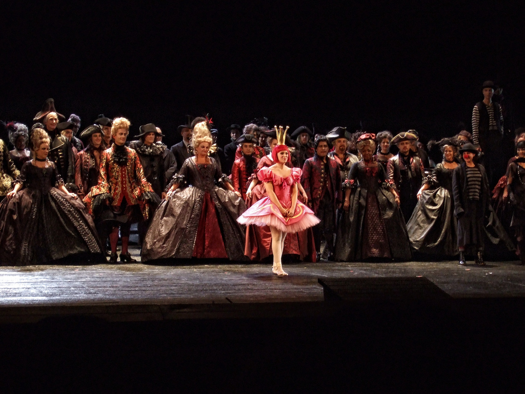My first bow on the Met stage