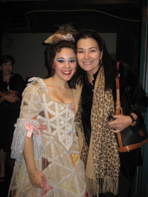 With my dear friend and mentor, Carol Vaness