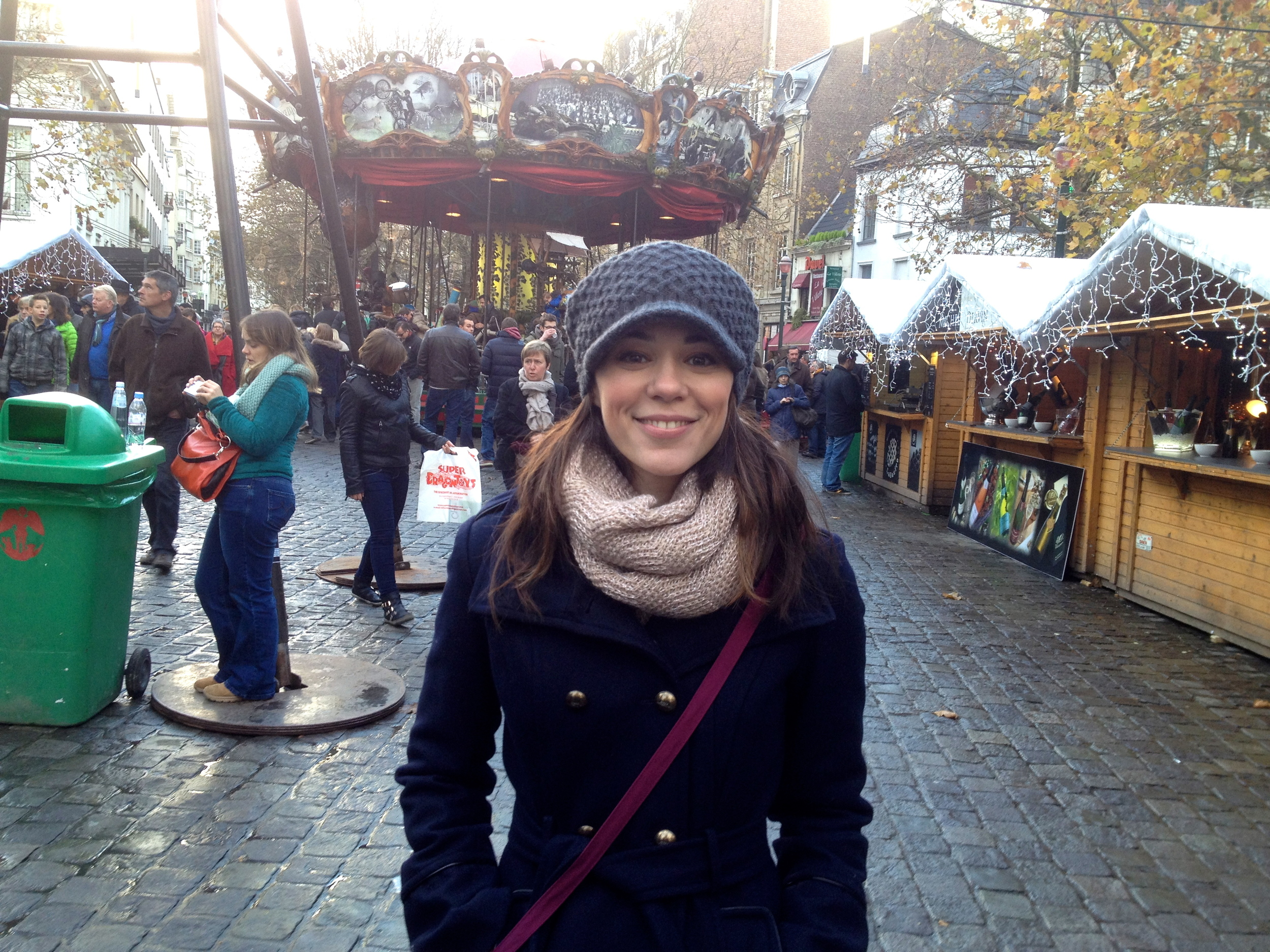 In Brussels at the Christmas Market