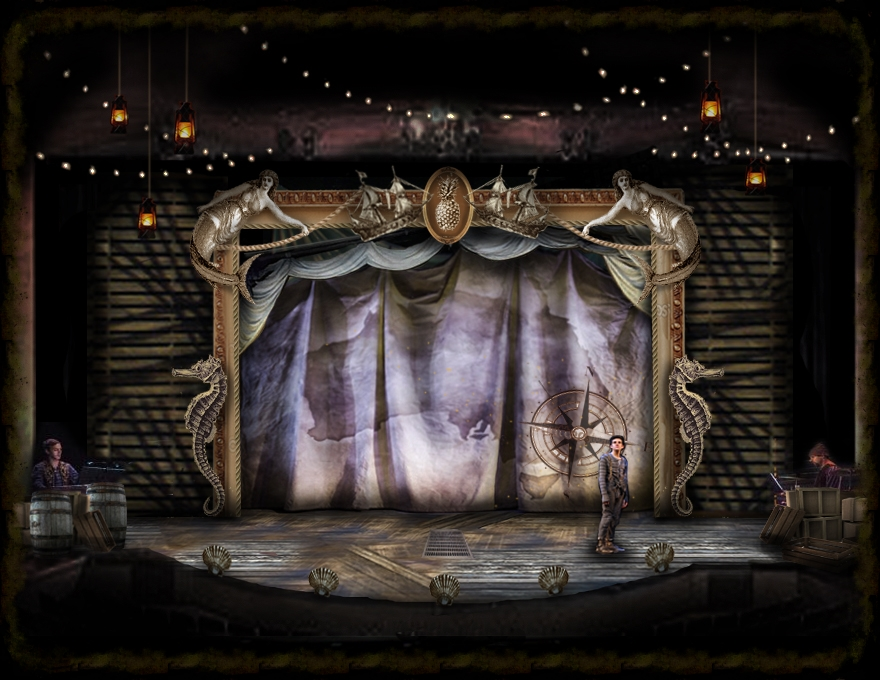 Show Curtain Concept Rendering