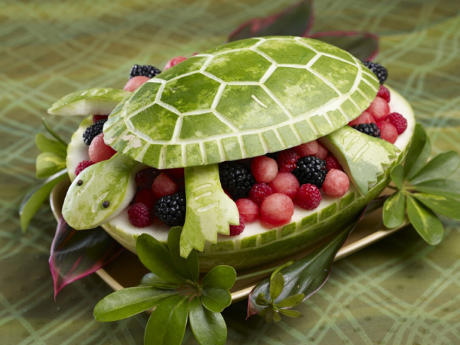 It's the Turtle lesson from Draw Write Now, Book 6. Get the recipe from the National Watermelon Promotion Board website, watermelon.org