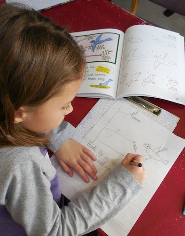 Rose, 7 years-old, Grace-Filled Homeschooling