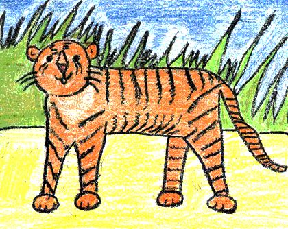 Matthew, age 7 Drawing makes handwriting practice fun!