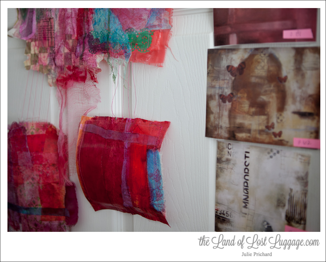 "Colorful Artwork coming soon to, ""Acrylic Solutions: Exploring Mixed Media Layer by Layer""."