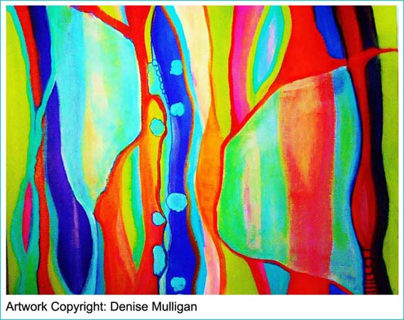 Click on her beautiful painting to visit Denise.
