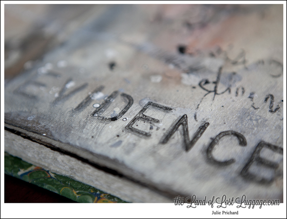 In your art journal, on a canvas...get into GRUNGE with this workshop.