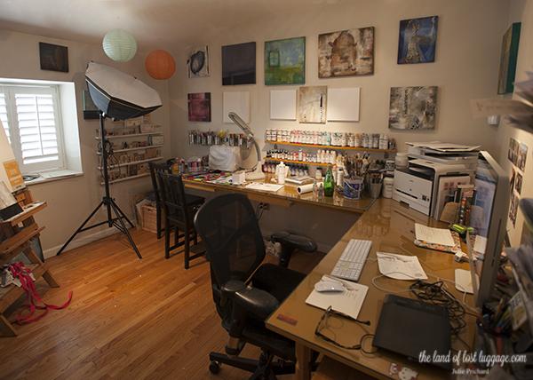 My studio- before.