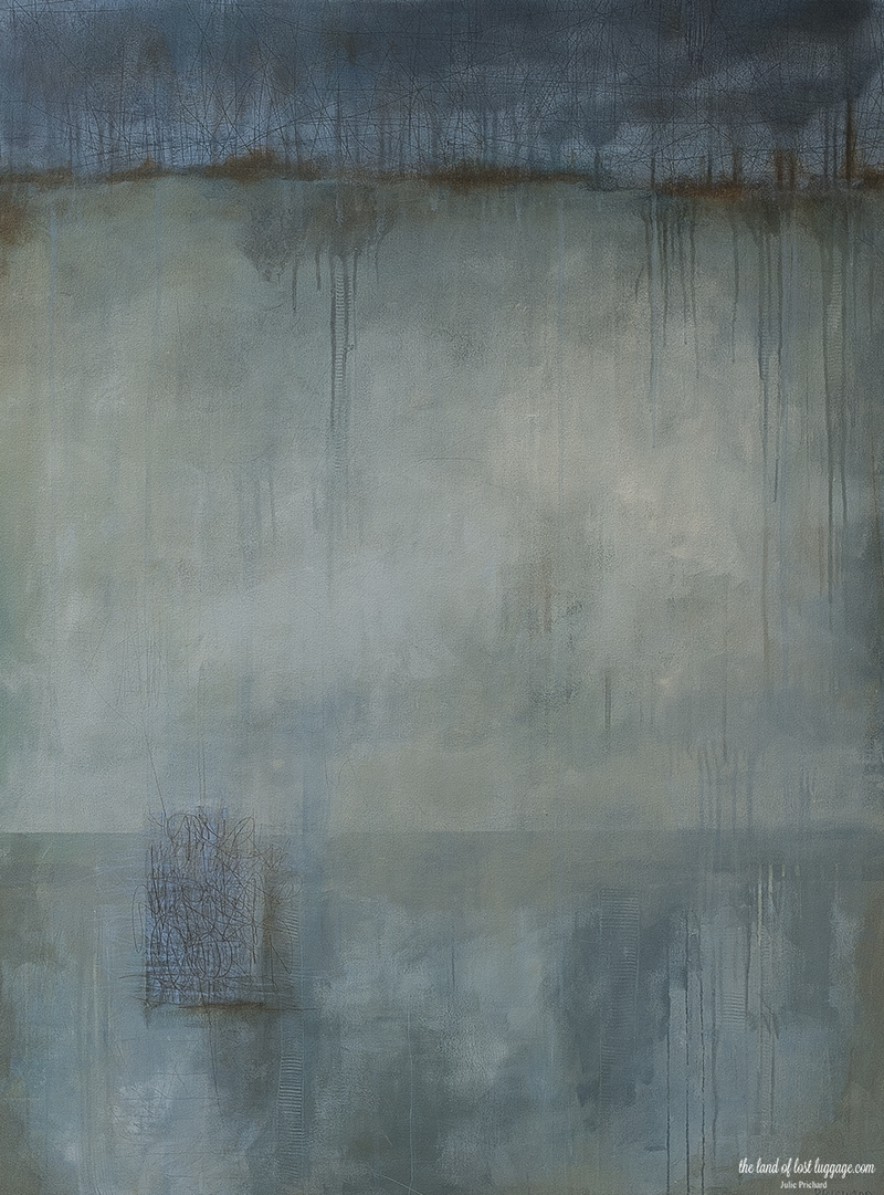 """36x48"""" Gallery Canvas ; Acrylic and Graphite"""