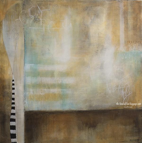 """""""Beetlejuice 99"""", 24x24 Acrylic on canvas"""