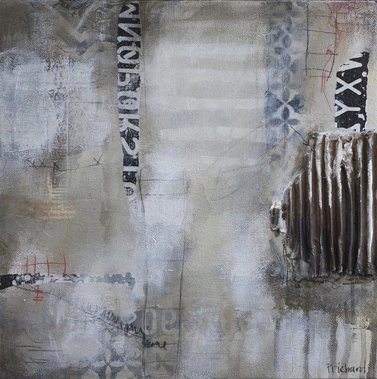 """Moonlight Beach"", Julie Prichard.Make a painting like this in my online workshop, ""8 Great paintings""."