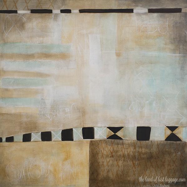 "24x24"" Gallery canvas; Original art for sale now."