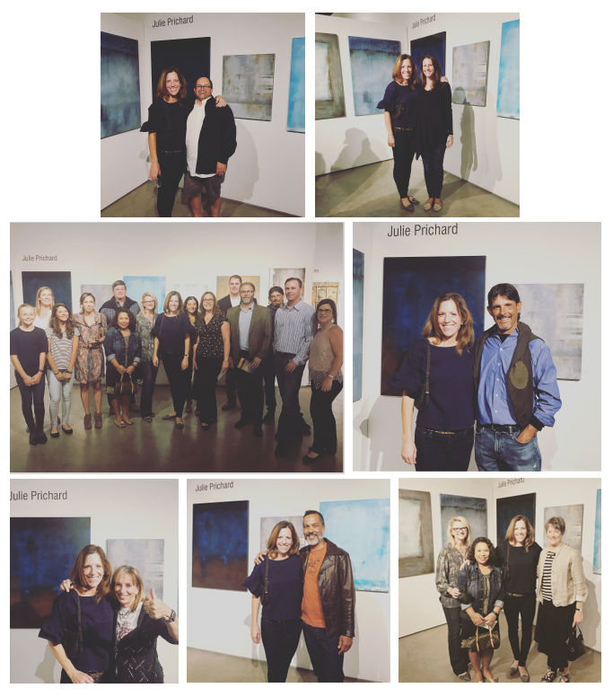 Only a small collection of friends who came to my Opening...