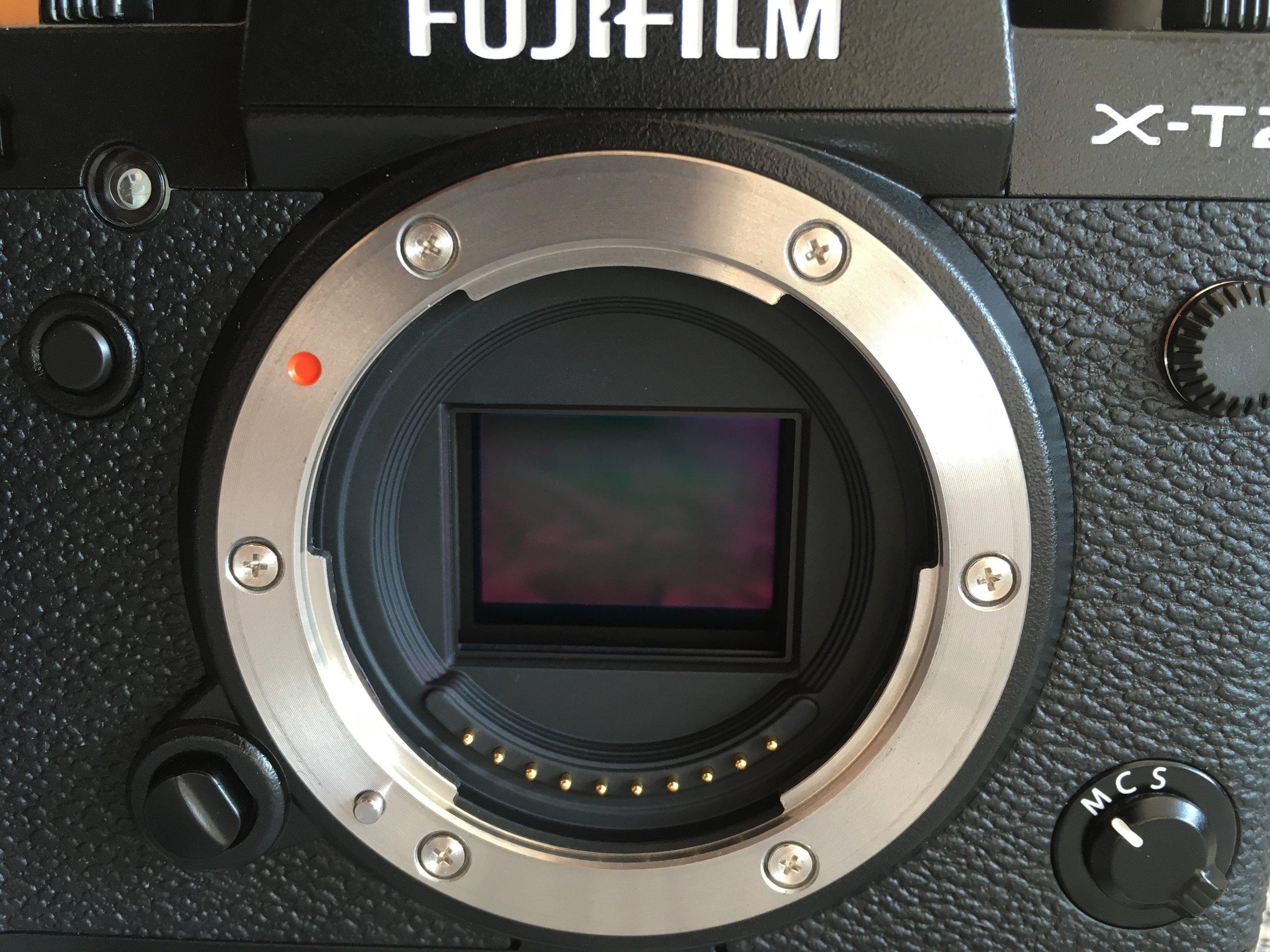 Fuji X-T2 Sensor - 'The Patient'