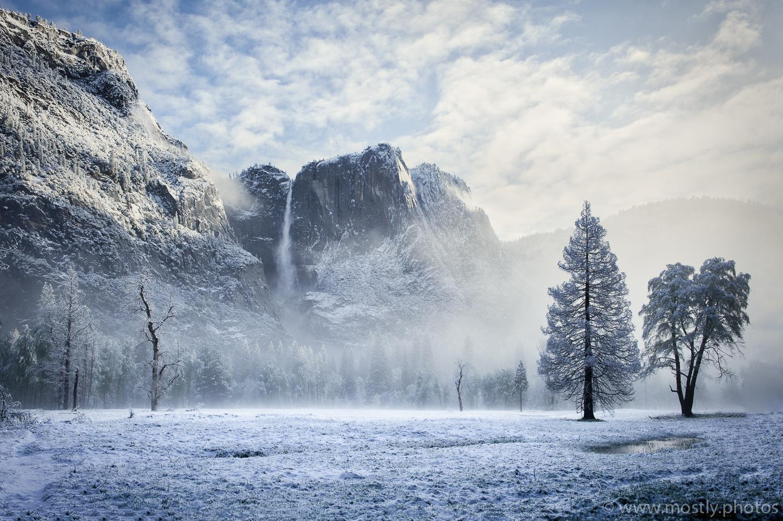 Yosemite Falls - Macphun Luminar with 'Abandoned Places' Pre-Set
