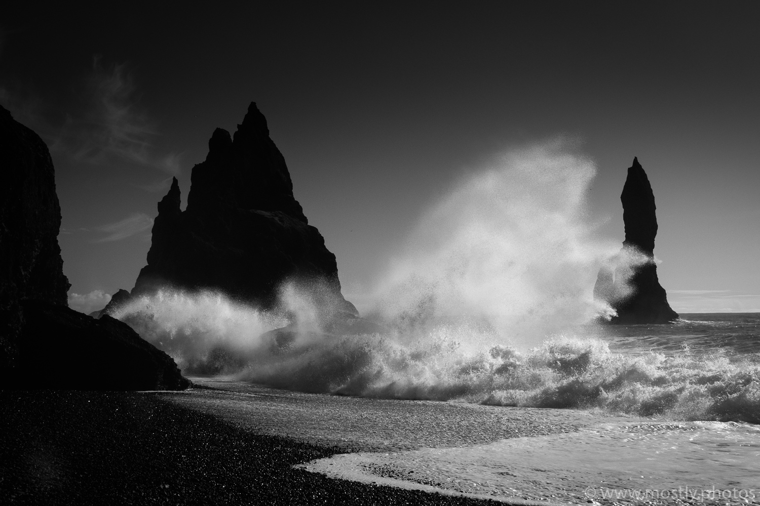 Fuji X-T1 - The Black Sand Beaches at Vik in Iceland