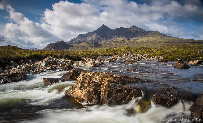The Black Cullin Mountains, Sligachan -Isle of Skye, Scotland