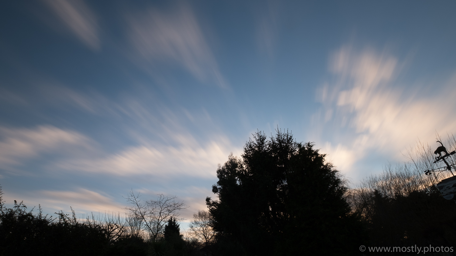 Fuji X-T2 and 10-24mm Lens Hoya 77mm Pro ND 1000 - Note the natural color of the late evening sky