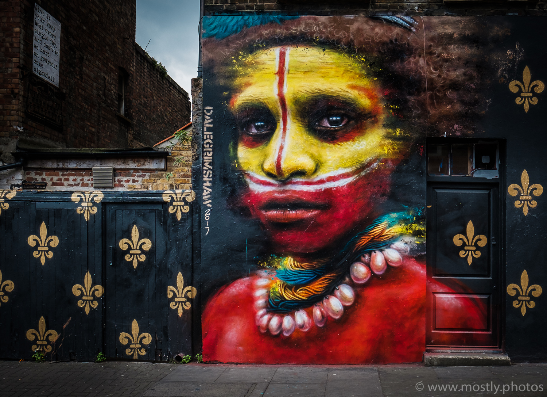 Near Brick Lane, London
