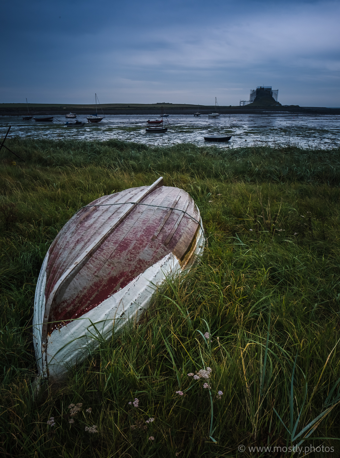 Lindisfarne Castle and Harbour Fuji X-T2 and Fuji 16mm f1.4