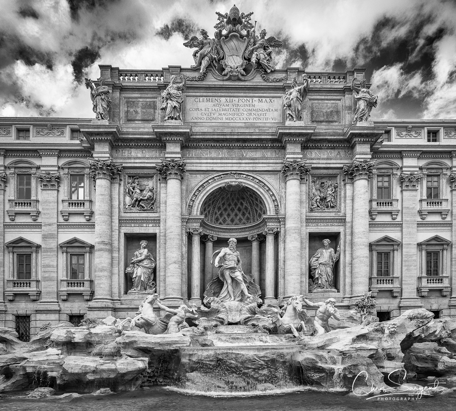 Trevi Fountain, Rome - Fuji X-T2 16mm f1.4