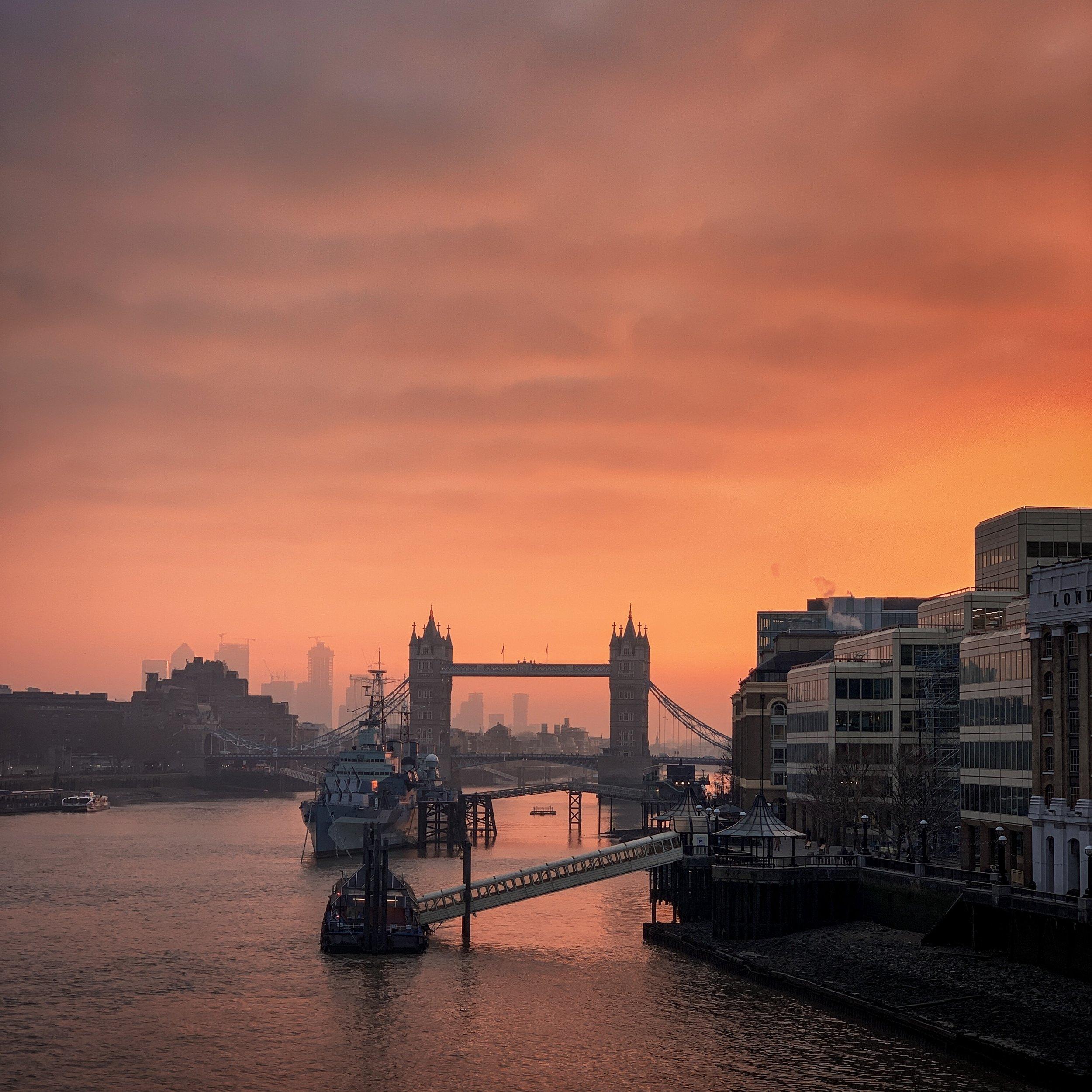 Tower Bridge at Dawn - iPhone XS