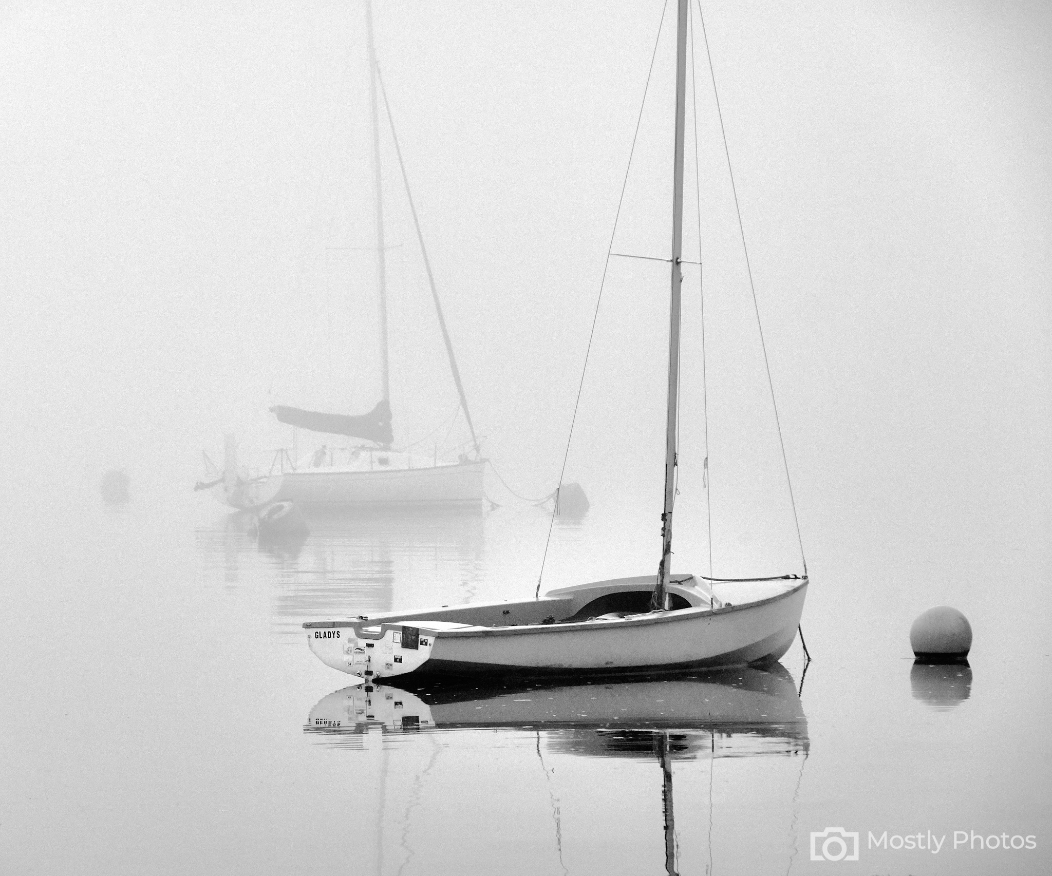 Sea Fog in Padstow Harbour