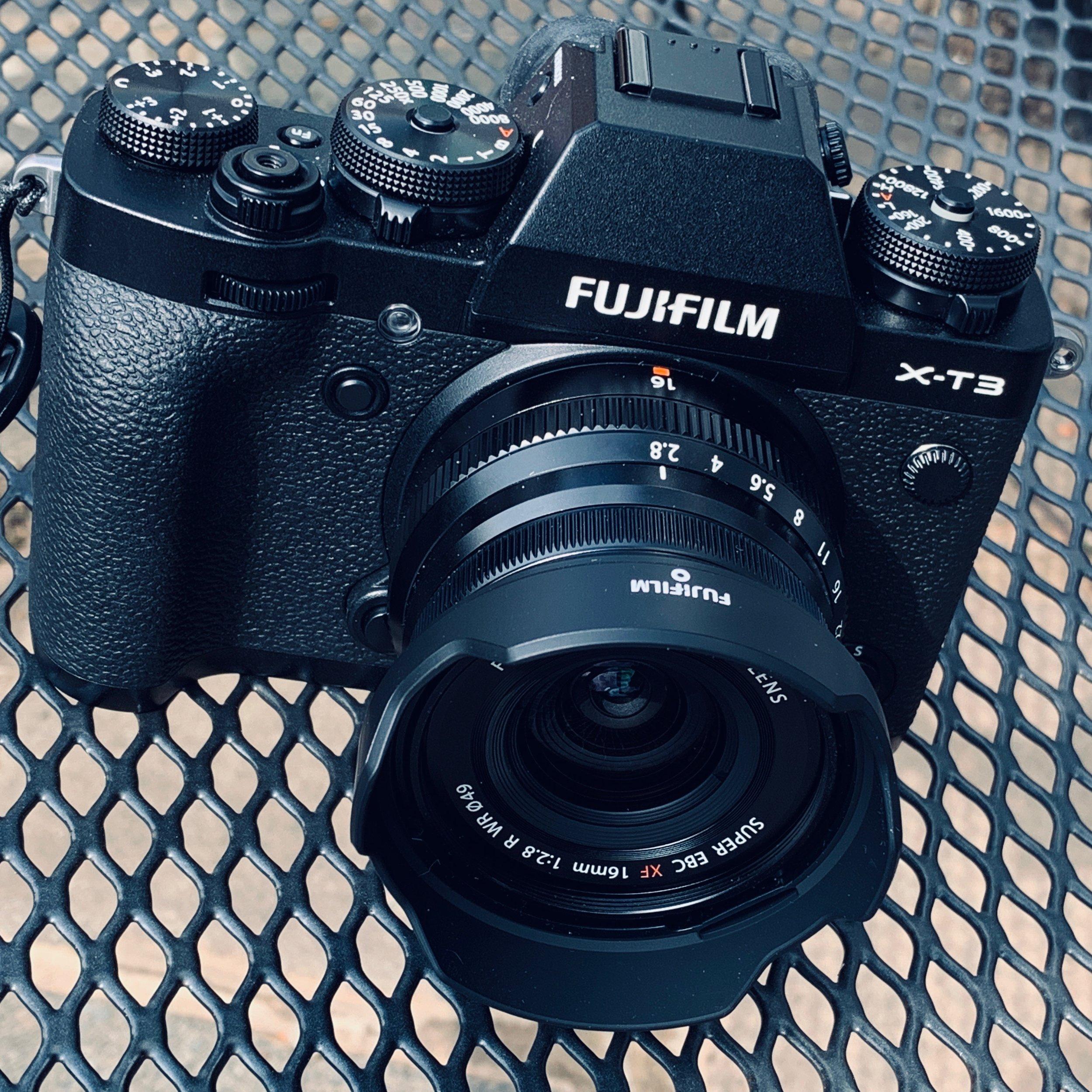 Fuji X-T2 and 16mm f2.8