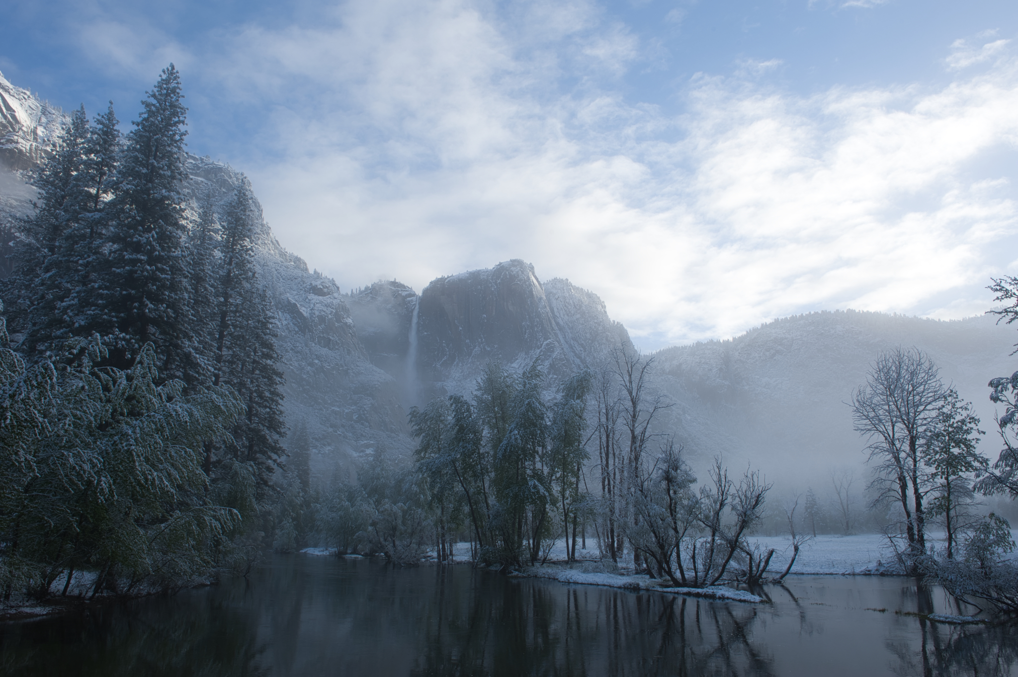 Yosemite Un-edited Nikon D3 RAW