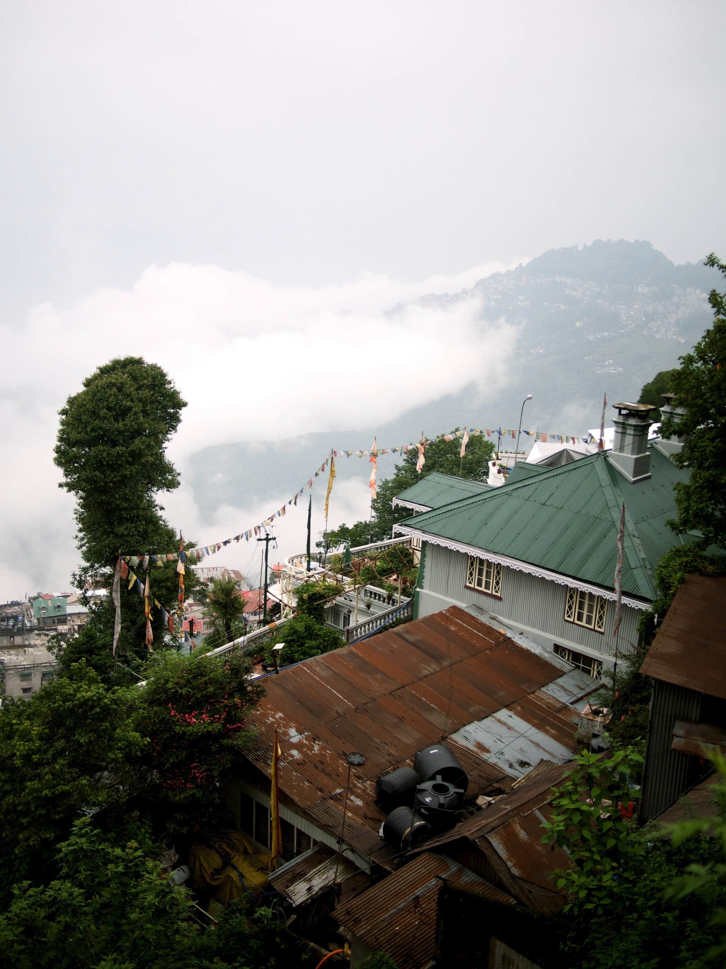 Darjeeling. I'll post more pictures later, but the internet is very slow up here...