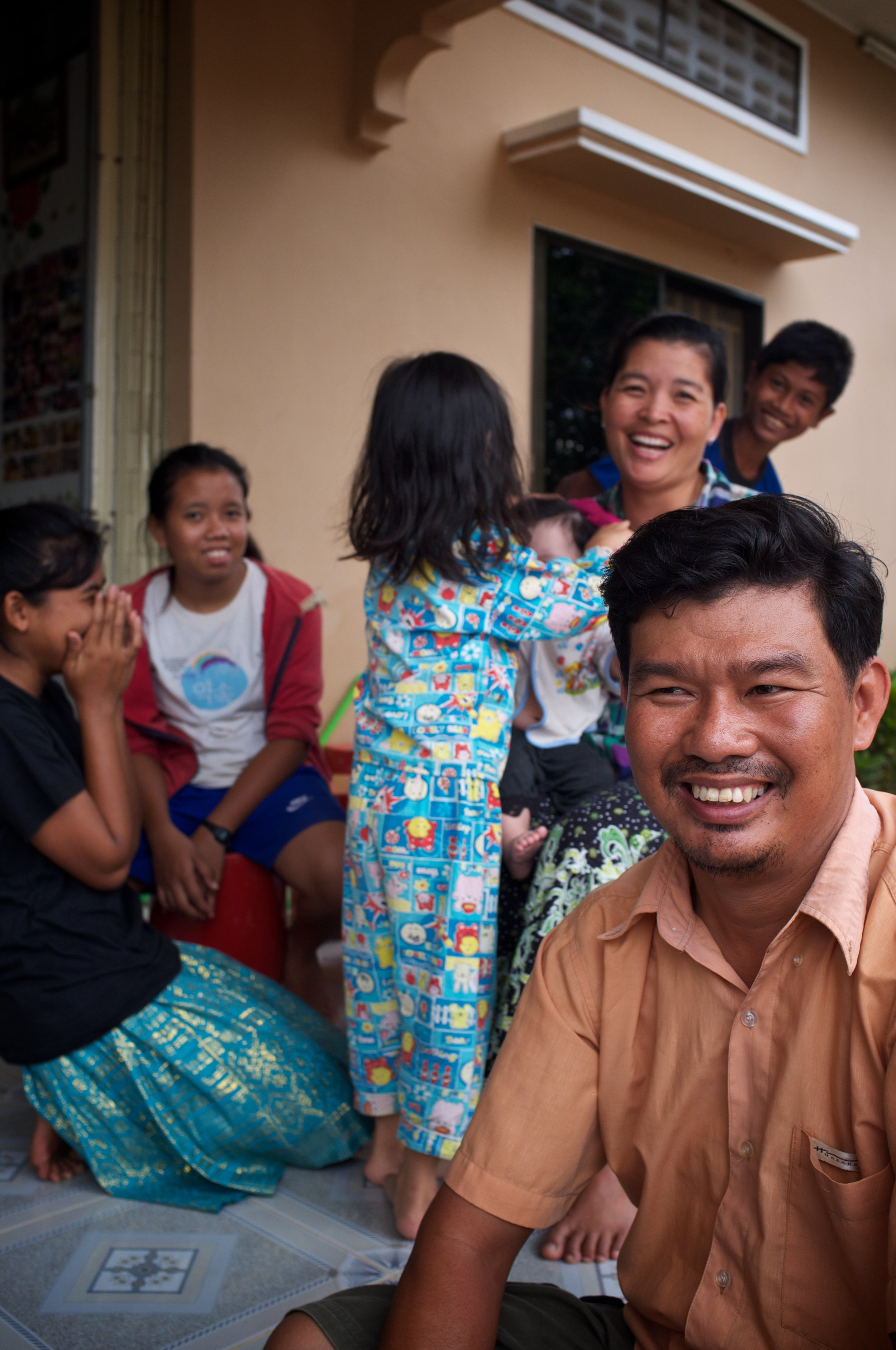 At Asia's Hope, each home is organized and run as a family -- real moms and dads -- supported by teachers, tutors, coaches, nurses and counselors.