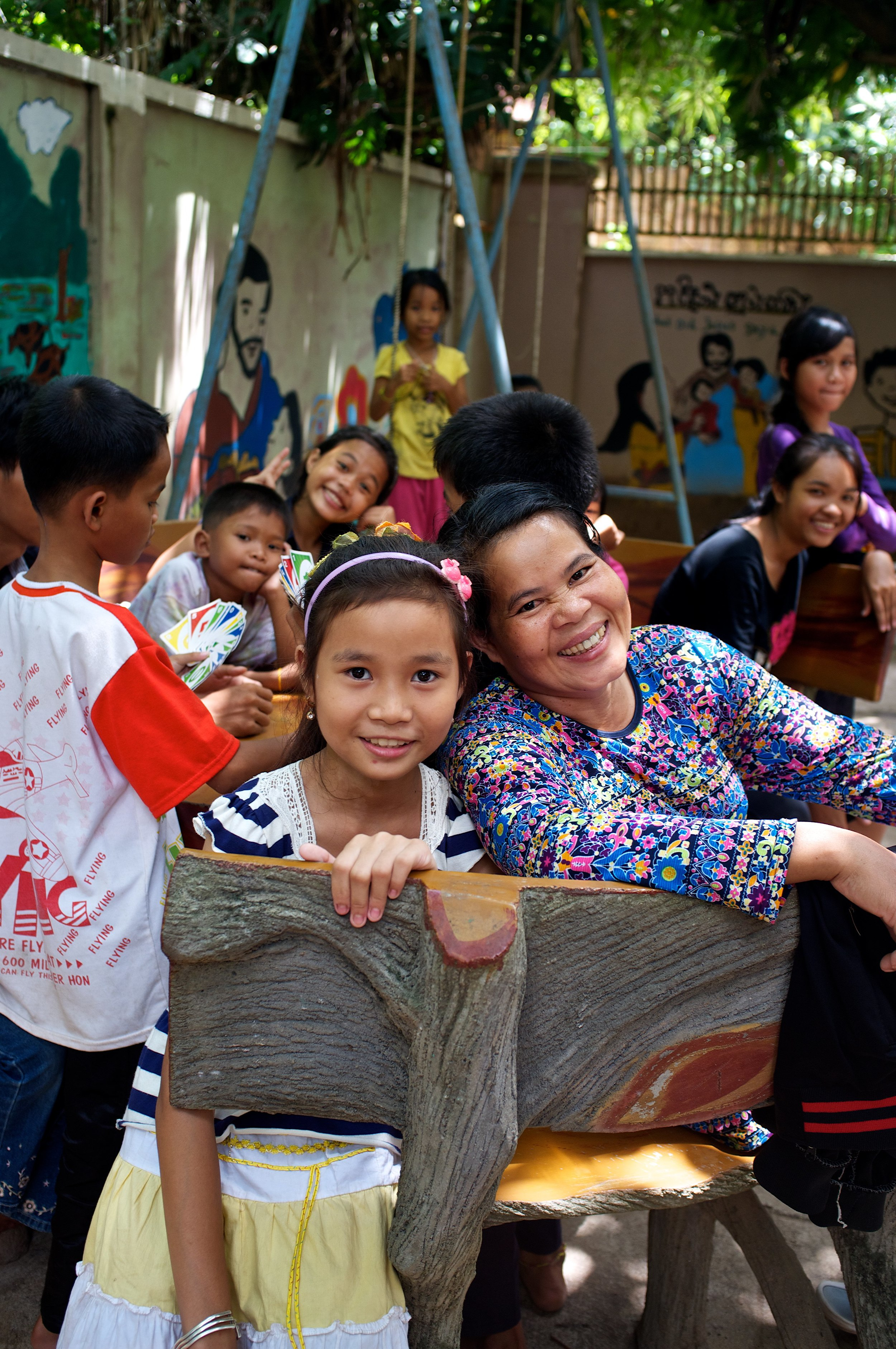 At the Prek Eng 3 children's home, as at all of our 29 homes in Cambodia, Thailand and India, orphaned children receive the kind of care we'd want for our own chldren if they were suddenly alone and unable to receive loving support from extended family members.