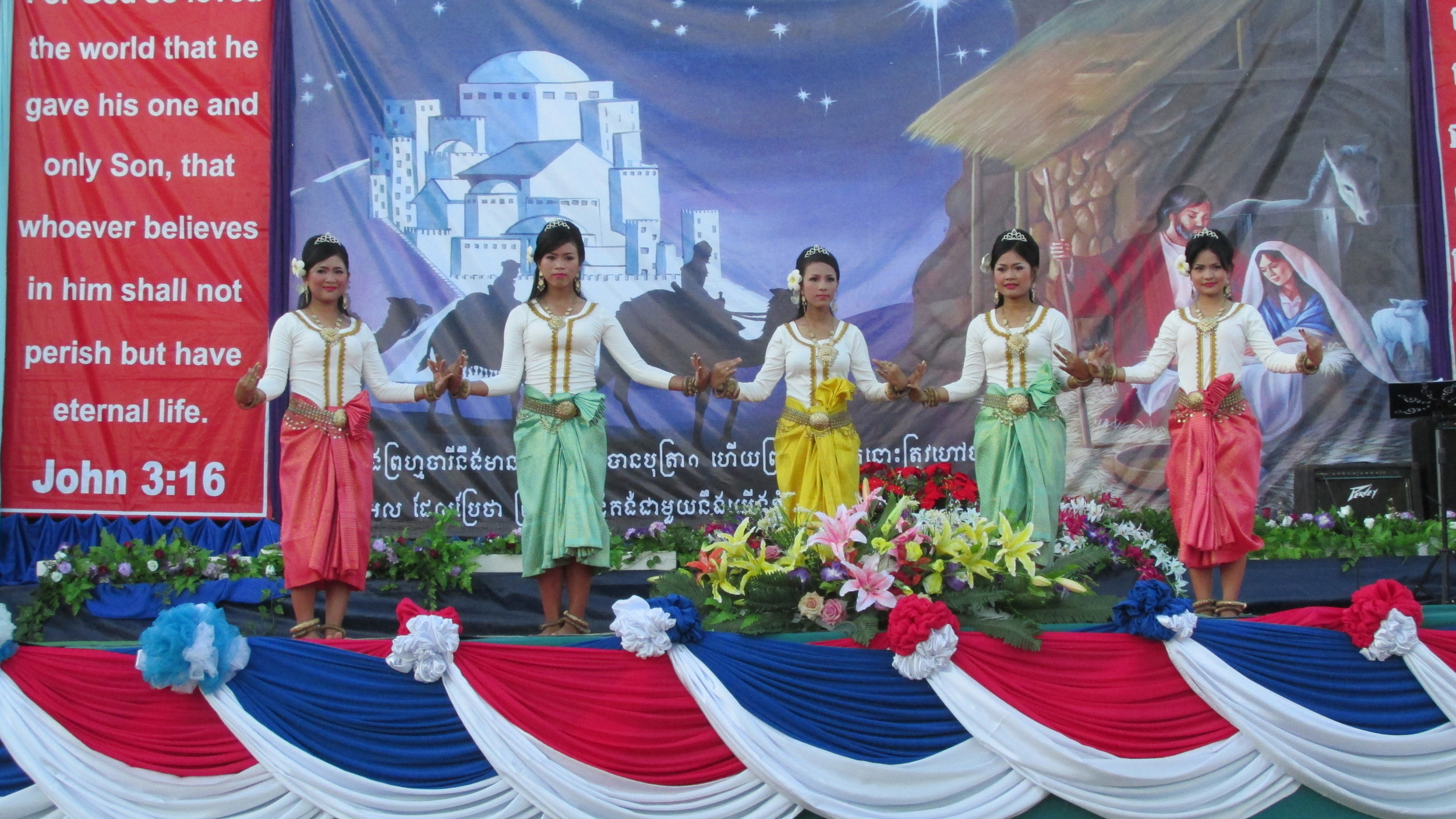 More than 1500 people joined Asia's Hope Cambodia on our Battambang campus to celebrate Christmas.