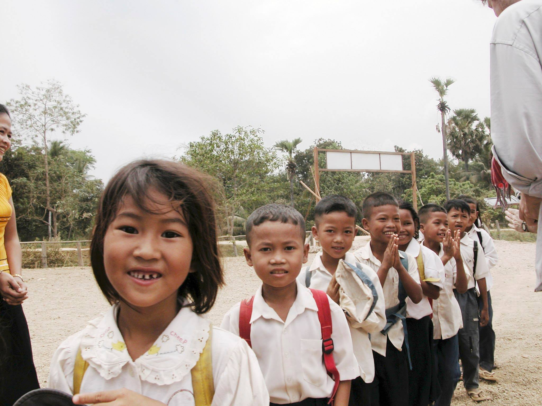 I took this picture more than a decade ago. It shows the  very first  Asia's Hope children from our first home in Battambang, Cambodia. Manyof children are now young adults heading to university and to their first jobs!