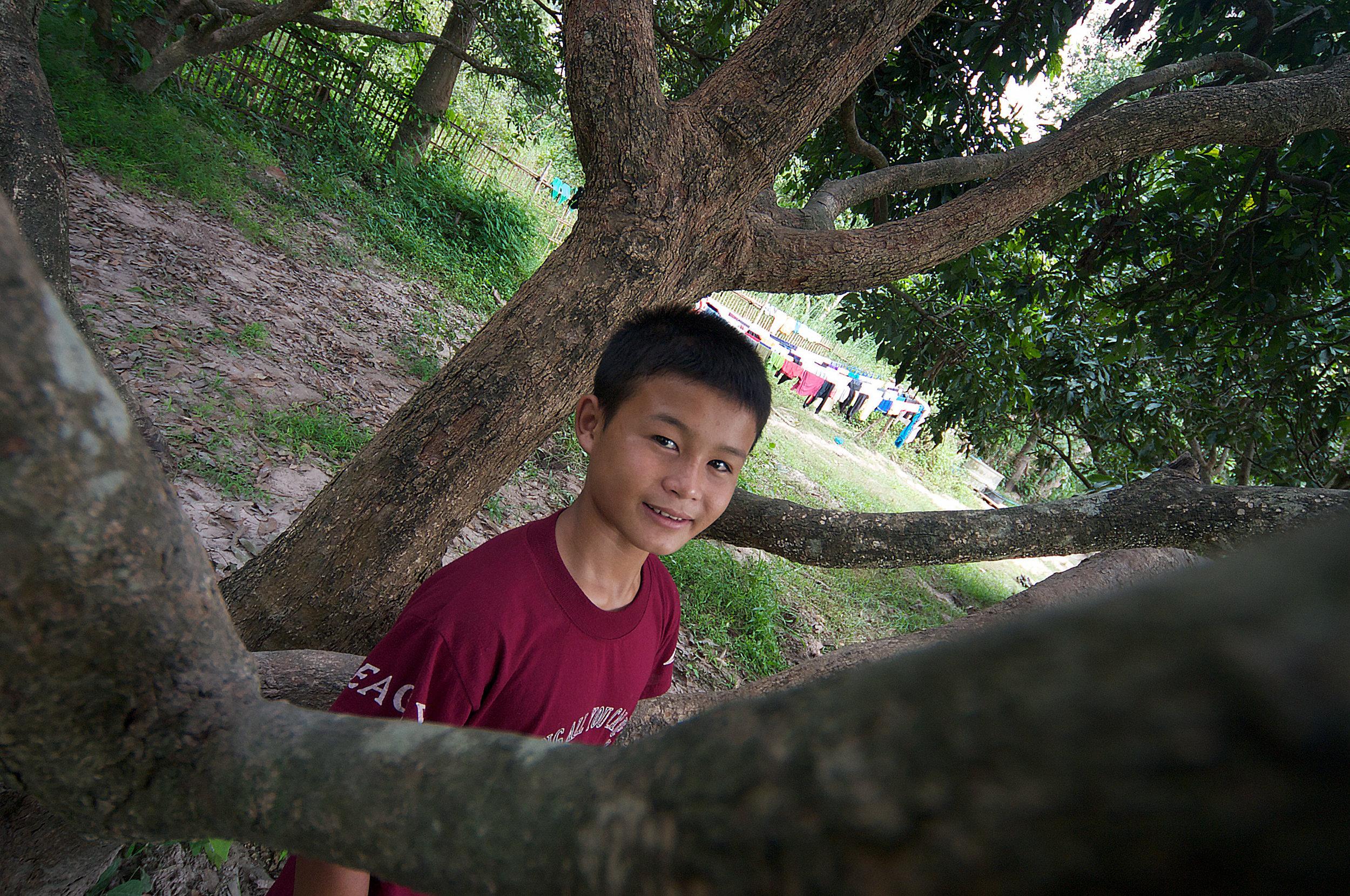 Janpon, age 13, growing up at Asia's Hope in Doi Saket, Thailand.