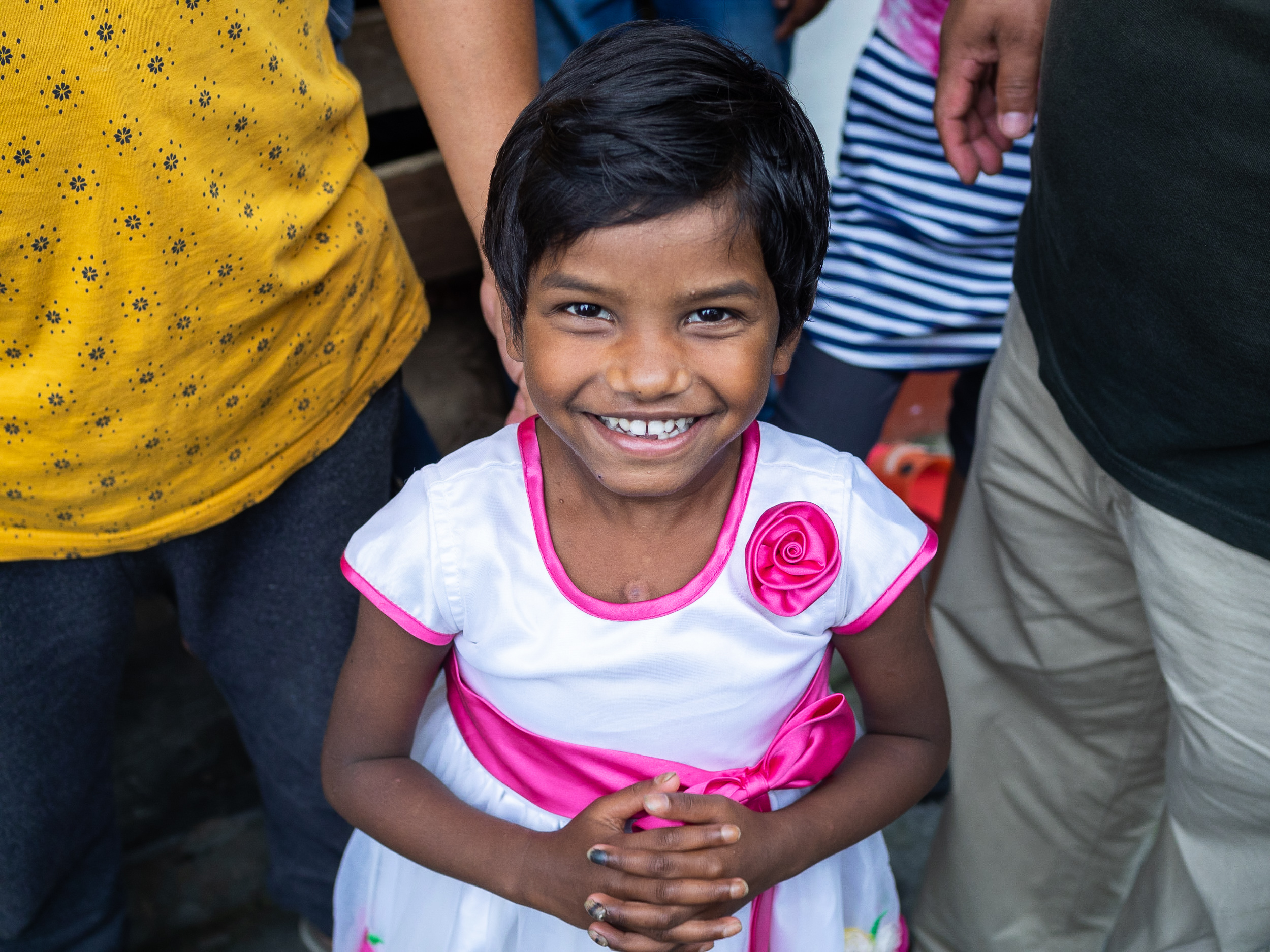 Our prayers were answered for little Sabina, whose dangerous open heart surgery was successful!