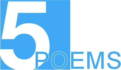5 poems I read April 5, 2012