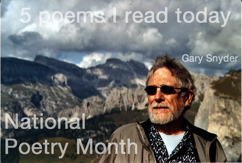 1.  Riprap  by Gary Snyder  http://bit.ly/hYL0cN  