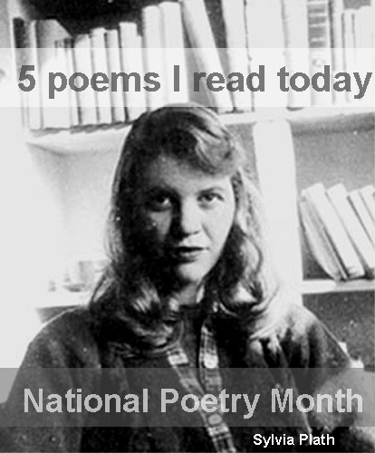 1.  Fever 103  by Sylvia Plath http://bit.ly/dQKD0A         2. The White Fires of Venus  by Denis Johnson  http://bit.ly/vOLp    3.  Musée des Beaux Arts by W.H. Auden  http://bit.ly/id11hz    4.T he Lake Isle of Innisfree  by W.B. Yeats http://bit.ly/hwVNsw    5. The Man-Moth  by Elizabeth Bishop  http://bit.ly/dNYMSD