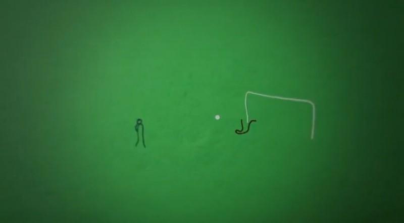 Pirlo's goal!
