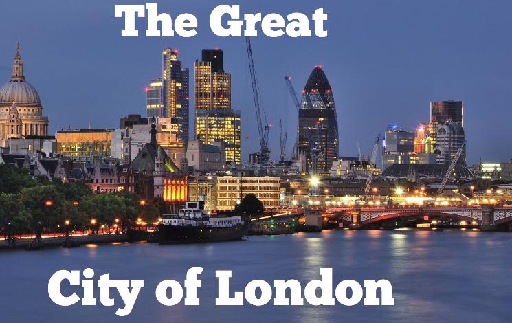 The Secret City of London inside of London City