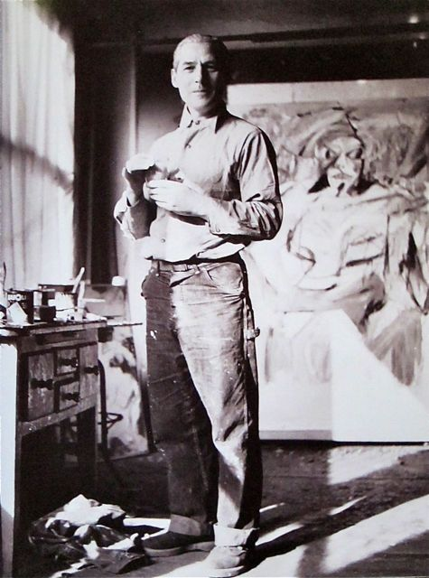 William De Kooning  85 Fourth Avenue  NYC  1952  Photo: Kay Bell Reynal