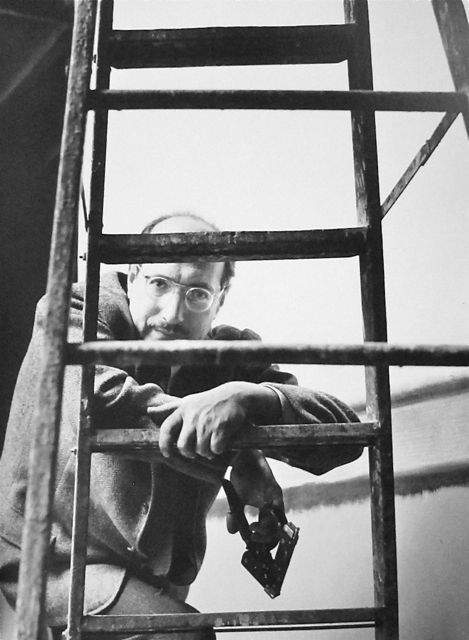 Marky Mark Rothko  West 53rd Street  NYC  1952  Photo: Kay Bell Reynal